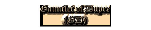 Gauntlet of Dupre