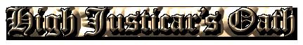 High Justicar's Oath