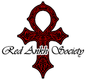Red Ankh Society Logo