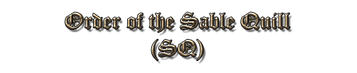 Order of the Sable Quill