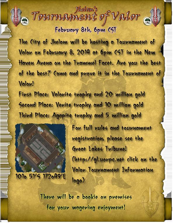 Jhelom's Tournament of Valor