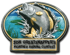 Zox's Monthly Fishing Contest