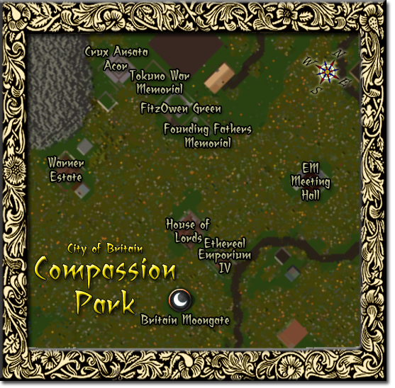 Map of Compassion Park