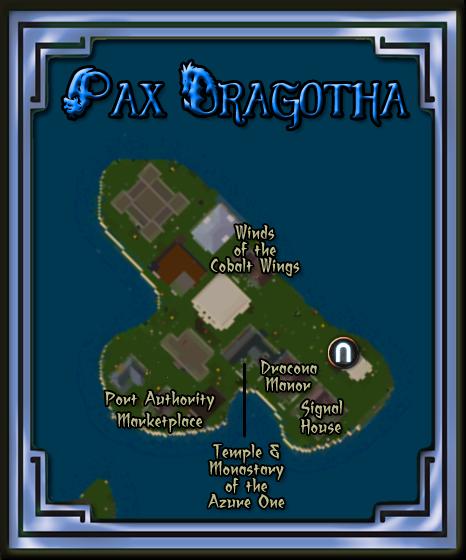 Pax Dragotha Map