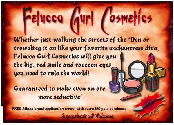 Felucca Gurl Cosmetics