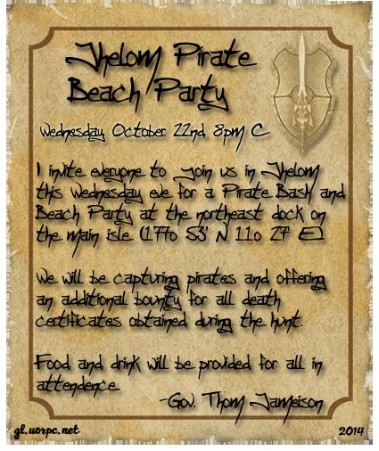 Jhelom Pirate Beach Party