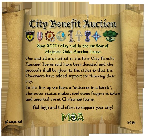 City Benefit Auction