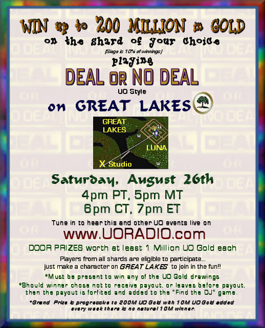 Deal or No Deal, 8-26-17 @ 6pm C
