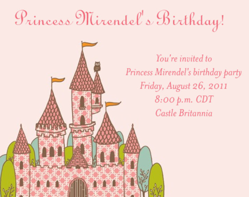 Princess Mirendel's Birthday