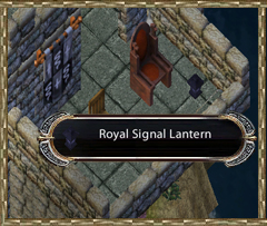 Royal Signal Lantern