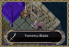 Yomotsu Blade in Casca's Chamber