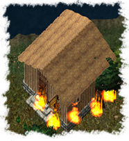 Arson at Dawn's home in Yew.